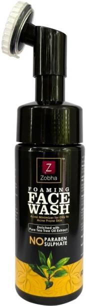Zobha TEA TREE FOAMING FACE WASH for Acne Minimizer Face Wash