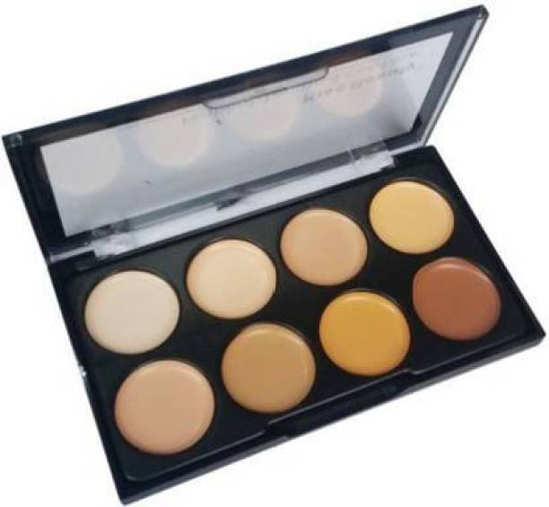 Kiss Beauty Multi Shades Concealer Palette Highlighter and Contour Foundation