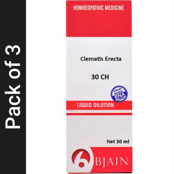 Bjain Clematis Erecta 30 CH Dilution