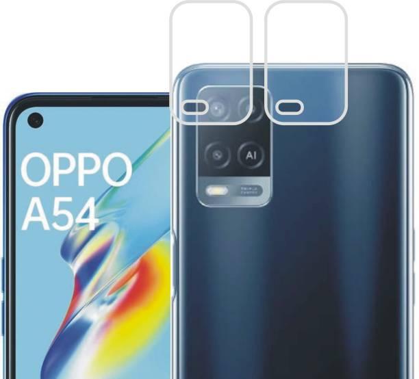 DESIBUZZ Back Camera Lens Glass Protector for Oppo A54