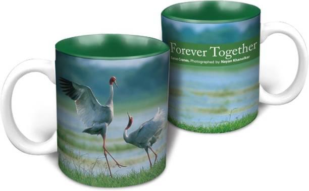 HOT MUGGS Wild Focus - Forever Together Ceramic Coffee Mug