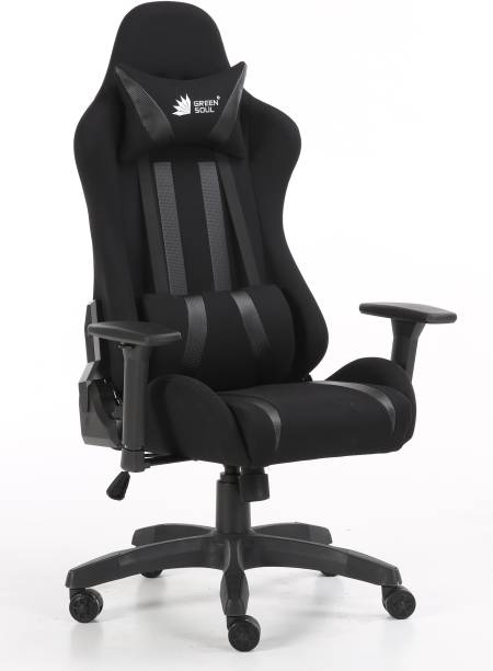 GREEN SOUL Gaming/Desk Chair (Beast Series - GS-600) Leatherette, Fabric Office Executive Chair