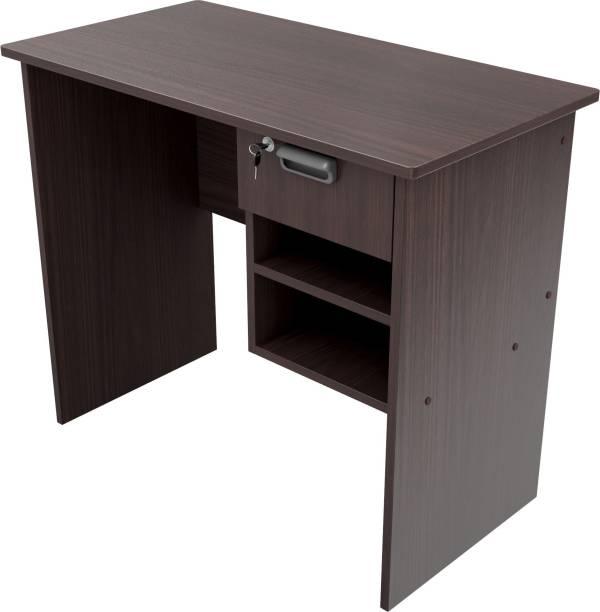 WOODNESS Cali Engineered Wood Office Table