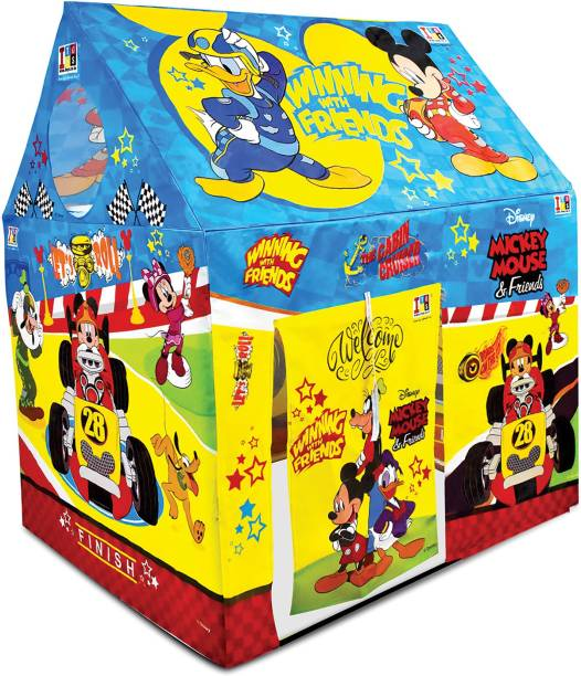 DISNEY Mickey & Friends Role Play Pipe Tent House for Kids