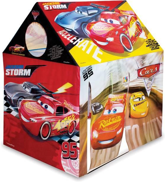 DISNEY Cars Role Play Pipe Tent House for Kids