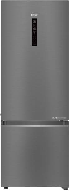 Haier 346 L Frost Free Double Door 3 Star Convertible Refrigerator