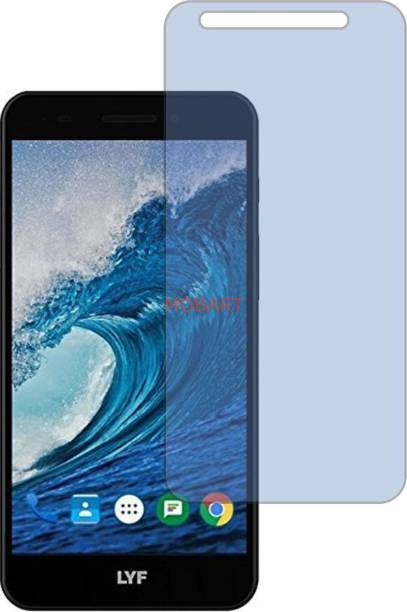 MOBART Tempered Glass Guard for JIO LYF WATER F1 (Impossible AntiBlue Light)