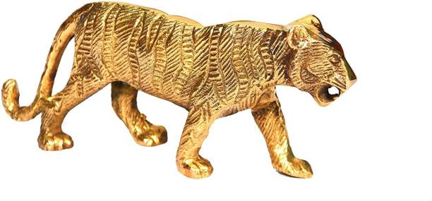 VISION INDIA CO Home Decorative Item Art Brass Metal Gifts Set of 1 Decorative Showpiece  -  8 cm