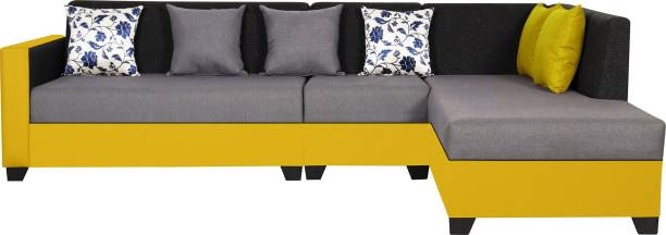 TREVI Bliss Fabric 6 Seater  Sofa