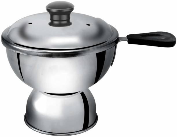 Panca Chiratta Puttu Maker Use with Pressure Cooker Pot 15 cm diameter 0.25 L capacity with Lid