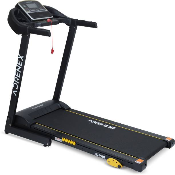Adrenex by Flipkart Alpha Pro 2HP Manual Incline Motorized with 12 Preset Programs, Anti Skid Belt and Free Installation Treadmill