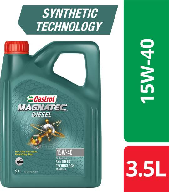 Castrol Magnatec Diesel 15-40 API SN Part Synthetic Synthetic Blend Engine Oil