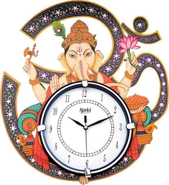 AJANTA Analog 35 cm X 33 cm Wall Clock