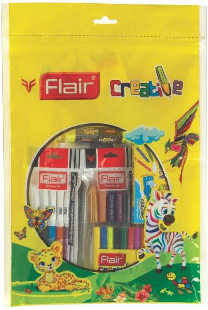 Flair Creative Exclusive Coloring & Art Kit