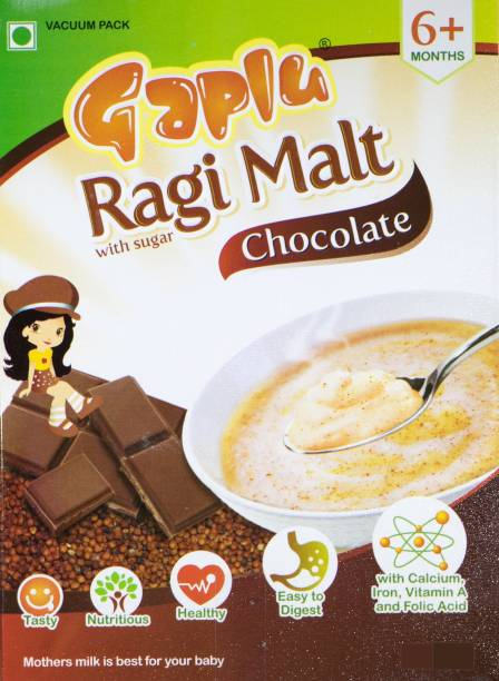 GAPLU Chocolate ragi malt Cereal