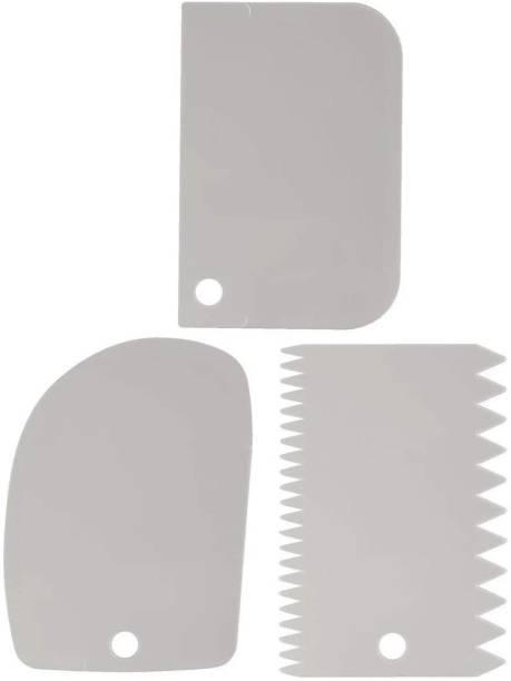 Morbrix 3pcs/Set Cake Scraper (Color May Vary) Baking Comb