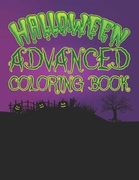 Halloween Advanced Coloring book