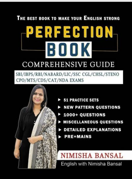PERFECTION BOOK - ENGLISH WITH NIMISHA BANSAL