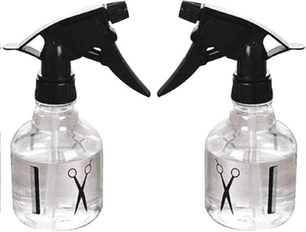 Runwet Hair Salon Designed Water Spray Bottle 250 ml (Pack of 2) 250 ml Spray Bottle