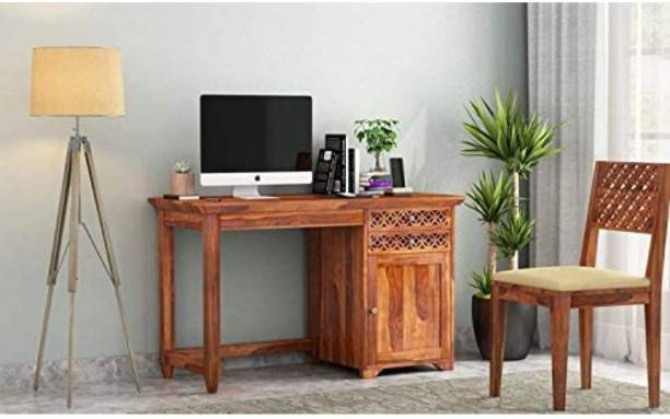 Credenza Solid Wood Computer Desk