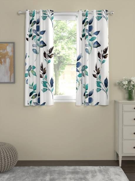 Flipkart Perfect Homes 152 cm (5 ft) Cotton Window Curtain (Pack Of 2)
