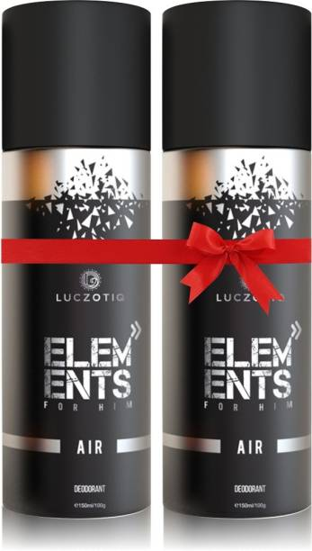 LUCZOTIQ Air Deodorant Body Spray For Men Pack of 2 Body Spray  -  For Men