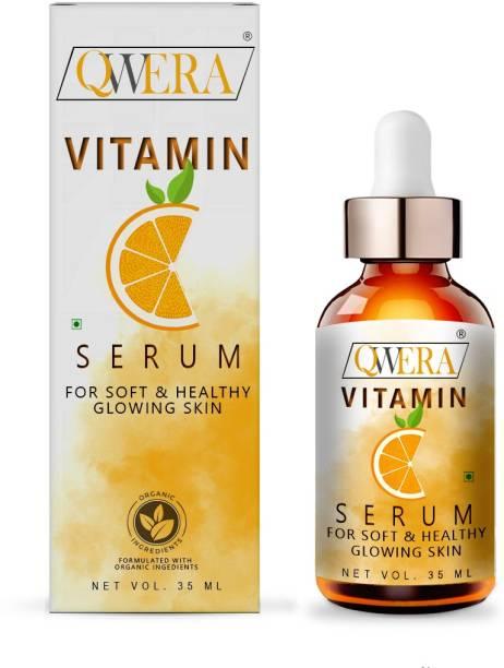 Qwera Vitamin C 20%, Skin Lightening, Whitening & Brightening, Or Age-Defring Serum, Vitamin C With Vitamin E Fairness Serum for a Brighter and Healthier Skin, Skin Clearing Serum - Brightening, Anti-Aging