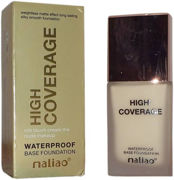 maliao High Coverage Water Proof Base Foundation White Ivory Foundation
