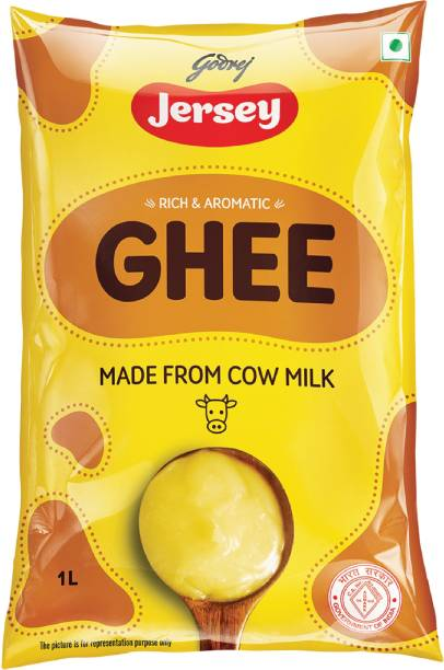 Godrej Jersey Pure Cow Ghee 1 L Pouch