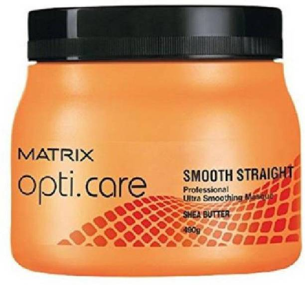 MATRIX Opti Care Smooth Straight Professional Ultra Smoothing Masque with Shea Butter (490 G)