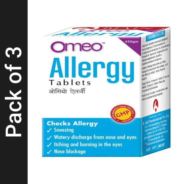 Bjain Omeo Allergy Tablets