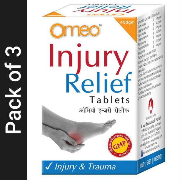 Bjain Omeo Injury Relief Tablets