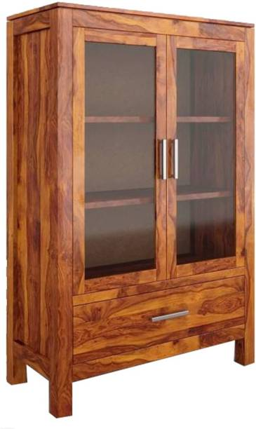 THE ATTIC Solid Wood Crockery Cabinet