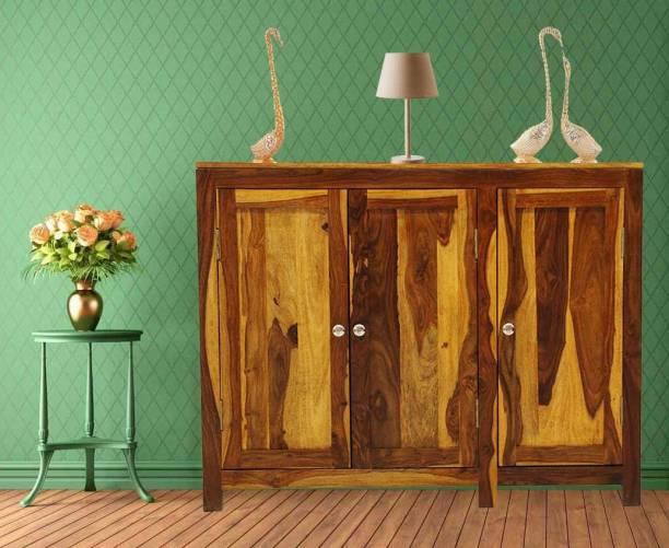 Flipkart Perfect Homes NORA-SB-NT-PH Solid Wood Kitchen Cabinet