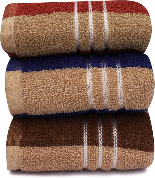 Vibranium Hand Towels Set of 3 Piece for Kitchen, wash Basin & Gym, Soft & Super Absorbent, Multicolor Napkins (3 Sheets) Multicolor Napkins