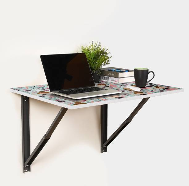 Flipkart Perfect Homes Studio Table for Laptop/Study/Writing/dining Recommended Wall Table for Laptop for Office/Home/ Portable Desk Lap | Kids Study Wall Desk Folding | Best Study/laptop Wooden Tables - L (23.62/ Inch/ 60cm) H(15.74Inch /40Cm) Engineered Wood Study Table