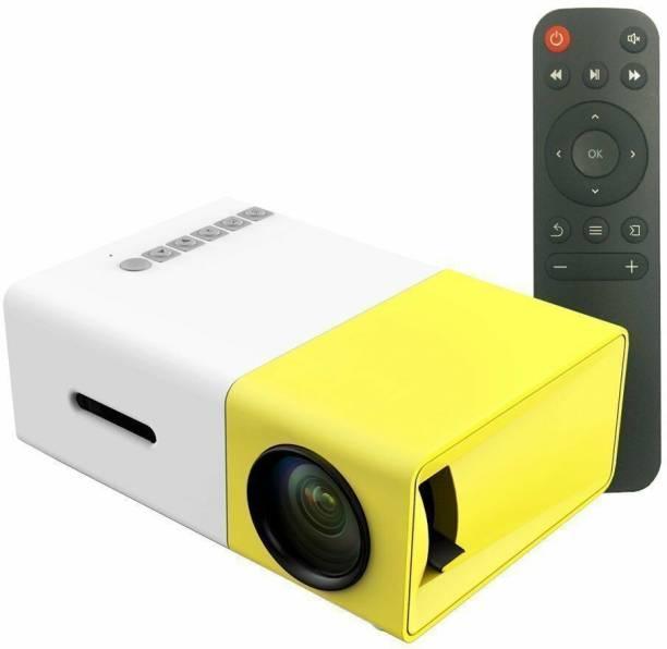play run Smartphone Projector, Artlii Micro Smartphone Pocket PC Video Mini Pico Laptop Projector Home Cinema Portable Projector (1080 lm) Portable Projector