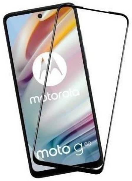 INFINITYWORLD Edge To Edge Tempered Glass for MOTOROLA G60, Moto G60, MOTOROLA Moto G60