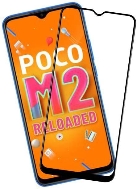 VAlight Edge To Edge Tempered Glass for POCO M2 Reloaded, Poco M3, Realme Narzo 20A, Realme Narzo 20, Realme C15, Realme C12, Realme C11, Poco C3, Realme C20, Realme C25, Realme C21, Mi Redmi 9 Prime, Poco M2, Mi Redmi 9i, Mi Redmi 9A, Mi Redmi 9, Realme Narzo 30A, POCO M2, :Realmec25s