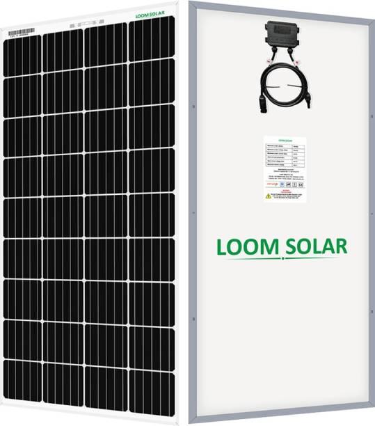 LOOM SOLAR 190 Watt - 12 Volt (Pack of 2) Solar Panel