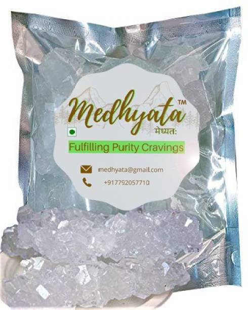 Medhyata Pure White Rock Sugar (Dhaga Mishri) (Thread Crystal) Sugar