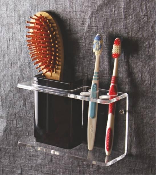 HOME SEVENTY THREE ACCESS Acrylic Toothbrush Holder