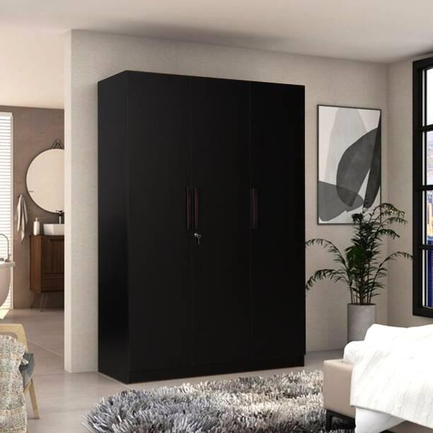 TREVI Engineered Wood 3 Door Wardrobe