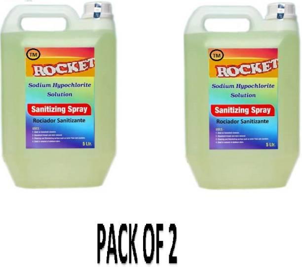 S.K. Hygiene chemical SODIUM HYPOCHLORITE SOLUTION (SANITIZING SPRAY-10LTR)