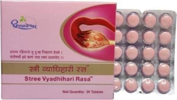 Dhootpapeshwar STREE VYADHIHARI RASA ( 30 TAB )