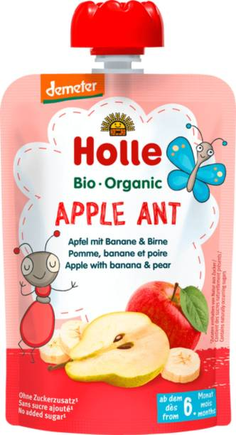 Holle Organic Apple Ant Puree Cereal