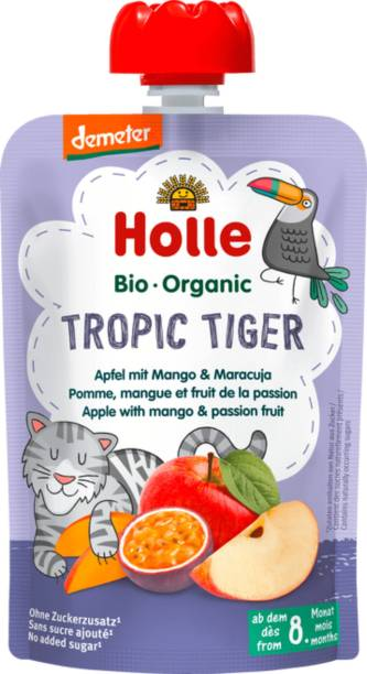 Holle Organic Tropic Tiger Puree Cereal