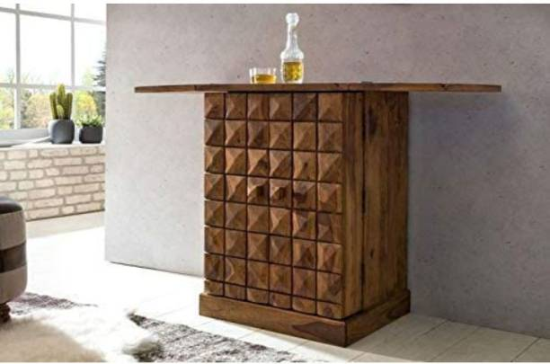 Unique Furniture Solid Wood Bar Cabinet