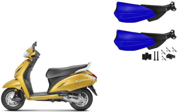 Buras NEW DASHING SHINING BLUE HANDGUARD FOR ACTIVA BEST QUALITY Handlebar Hand Guard