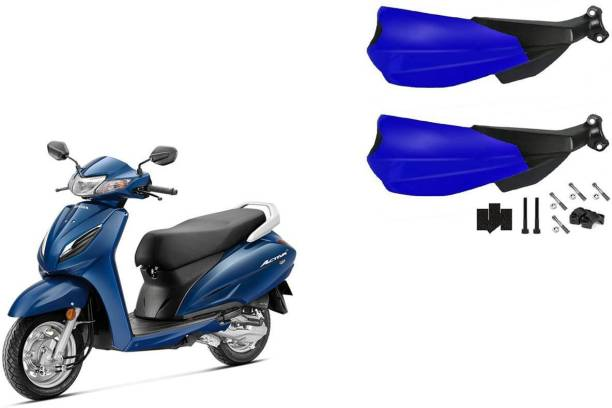 Buras NEW DASHING SHINING BLUE HANDGUARD FOR NEW ACTIVA BEST QUALITY PRODUCT FOR THE BIKERS Handlebar Hand Guard